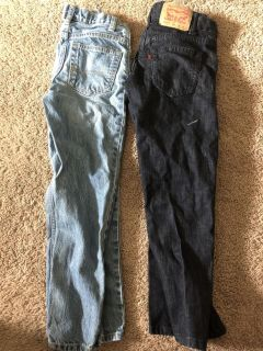 2 pair of boys Jeans size 8