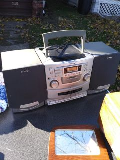 Boombox everything works great