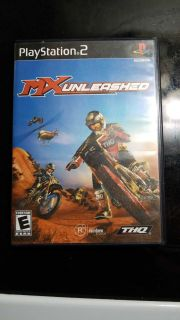 MX unleashed PS2 game