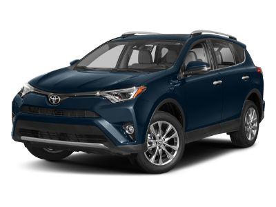 2018 Toyota RAV4 Limited AWD (Galactic Aqua Mica)
