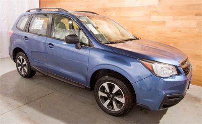 2018 Subaru Forester 2.5i (Quartz Blue)