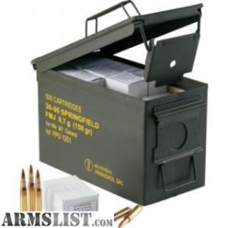 For Sale: PPU PPN762MC Mil-Spec M80 Metal Can 308 Winchester/7.62 NATO 145 GR Full Metal Jacket Boat Tail 500 Bx/ 1 Cs. no taxes,no credit card fees, Flat rate shipping is $14.95 for unlimited ammunition