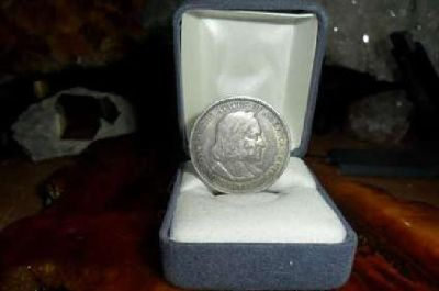 Gorgeous Rare Coin Columbian Commemorative Silver Half Dollar 1893-P Pure Silve