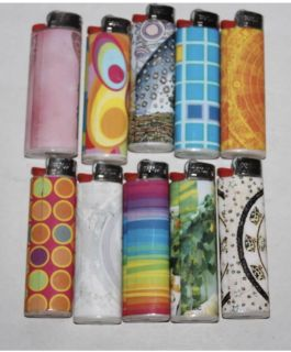 Lot of Collectible Bic Lighters