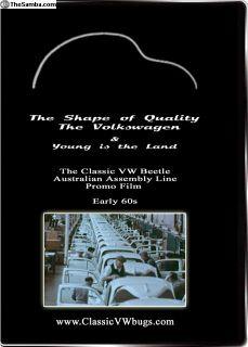 Classic VW Beetle Bug Australian Assembly Line DVD