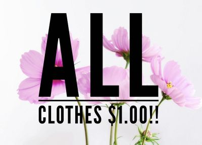 That s right!! All clothes!