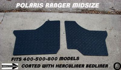 Buy POLARIS RANGER black MID-SIZE 400-500-800 DIAMOND PLATE FLOOR BOARDS 2011-13 motorcycle in Elmwood Park, Illinois, United States, for US $87.95
