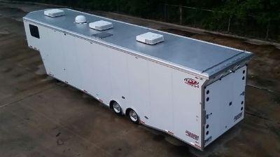 Custom Enclosed Trailer - 42 Foot All Aluminum