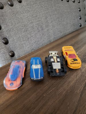 Set of 4 Hotwheels Cars