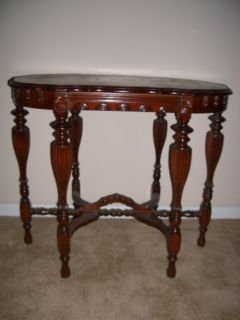 ANTIQUE VICTORIAN 6 LEG PARLOR TABLE