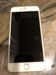 Silver iPhone 6S Plus 64 GB, fully unlocked no scratches or cracks