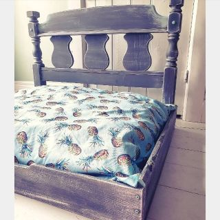 Beautiful handcrafted dog bed