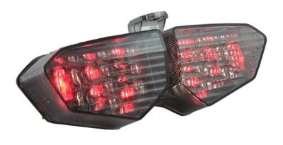 Find Smoked Integrated Led Blinker Taillight Yamaha YZFR6 03-05 motorcycle in Ashton, Illinois, US, for US $89.95
