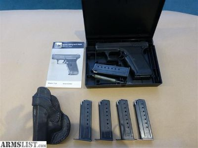 For Sale: HK P7M8 9mm 6 Mags Holster LINB
