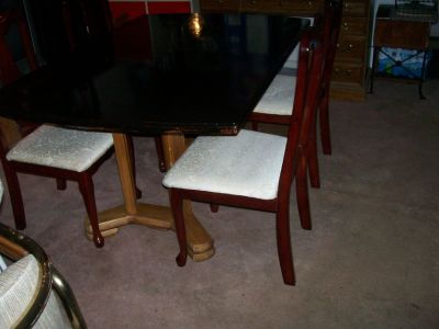 THREE (3) DINING/KITCHEN TABLE SETS