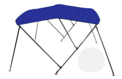 "Purchase NEW 4 Season Brand Deluxe Bimini Top Boat Cover 46""h x 91""-96 ""w 6' L NAVY BLUE motorcycle in Burkesville, Kentucky, US, for US $199.99"