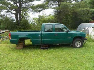 $600 2002 chevy silverado 4x4 extended cab
