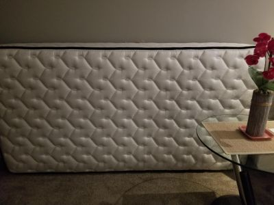 New single mattress with new box spring