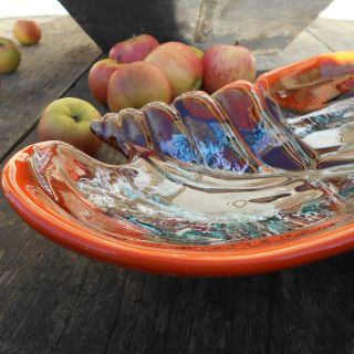 Mid-Century Modern Vallauris Seafood Platter.