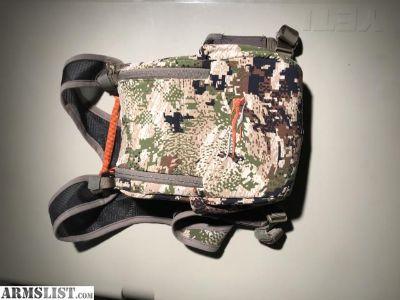 For Sale: Sitka XL Bino Harness (Subalpine)