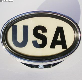 USA sign illuminated accessory for all VW's