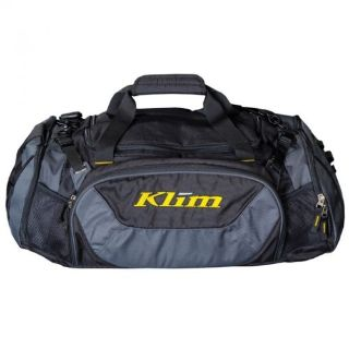 Sell Klim Snowmobile Mountain Weekend Travel Gear Bag Duffle Bag - Black & Gray motorcycle in Sauk Centre, Minnesota, United States, for US $69.99