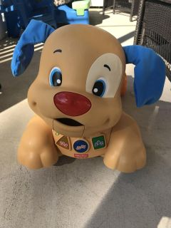 Fisher-Price Laugh & Learn Stride-to-Ride Puppy pick up only