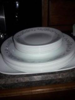 set of nice dishes