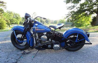 Harley Davidson 1947ul Restored Flathead