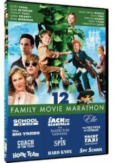 NEW Family Movie Marathon 12 Film Collection 3 Disc DVD Set SEALED