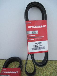 Sell Engine BELT ribbed Serpentine Belt - DYNACRAFT D-84-1001-082145 motorcycle in Springville, Utah, United States, for US $19.95