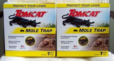 Two (2) - TOMCAT MOLE TRAPS - NEW