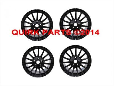 "Find 2015 Subaru Impreza WRX ""STi"" Alloy Wheel Rim 17"" SET OF 4 BLACK OEM NEW motorcycle in Braintree, Massachusetts, United States, for US $1,299.95"
