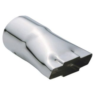 "Purchase Pilot PMZ-014 Bowtie Exhaust Tip Chrome 3 1/4"" Inlet Clamp On motorcycle in Suitland, Maryland, US, for US $21.83"