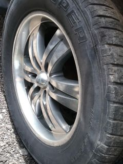 """20 """" Tires and Rims"""