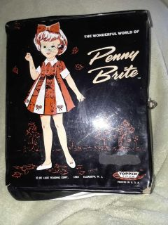 Vintage 1964 Penny Brite doll and case