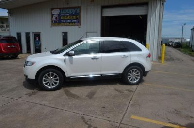 2014 Lincoln MKX Base (Pearl Wht)