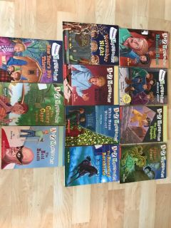 Twelve A to Z Mysteries Books Good Cond . Smoke Free
