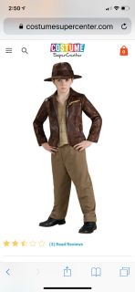 Indiana Jones costume (rubie s costume) sz Youth large