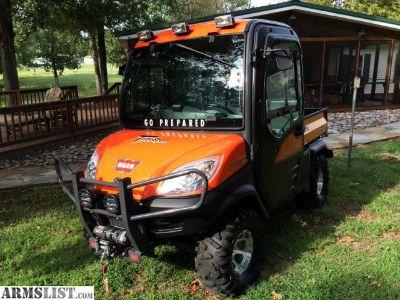 For Sale: Custom 4WD Kubota RTV 1100 cc Diesel CWX-H