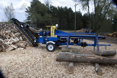 NEW 2017 Dyna SC-12XP Timber Firewood Logging Processor with 8ft. Conveyor