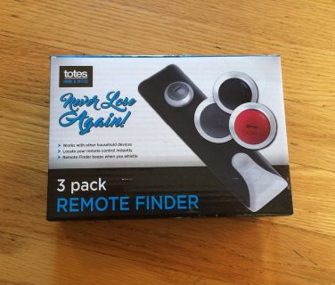 Totes Remote Finder Boxed Set-With Batteries-NEW!!