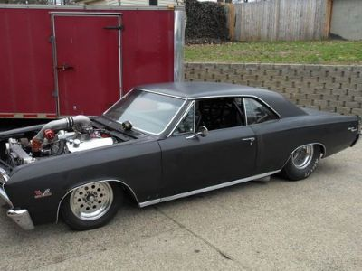 67ss Chevy chevelle twin turbo