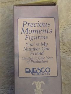 Precious moments figurine you re my number one friend item number 530026