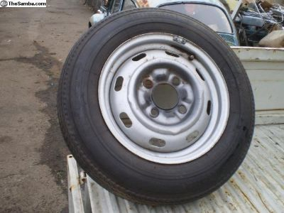 original spare 1971 ghia type 3 super Rim wheel
