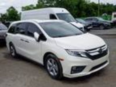 Salvage 2019 HONDA ODYSSEY EX for Sale