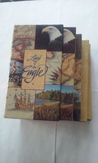 Land of the Eagle VHS set of 4 tapes North America