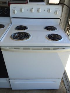 Whirlpool Electric Range in White
