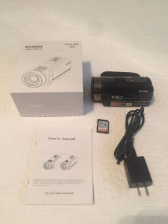 HD Video Camera with memory card