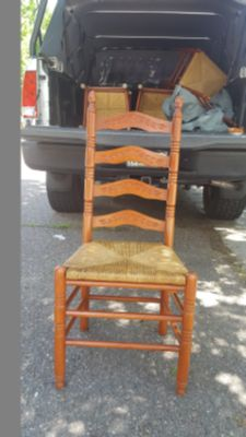 2-Ladder Back Chairs